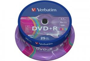 DVD-R CAKE 25pcs VERBATIM