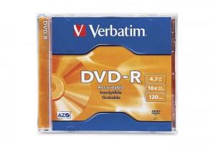 DVD-R VERBATIM 16X  ΣΕ ΘΗΚΗ JEWELCASE