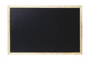 ΠΙΝΑΚΑΣ ΜΑΥΡΟΣ 60Χ90 (κιμωλιας)