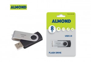 USB ALMOND 8GIGA TWISTER